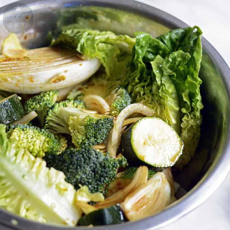 Tajskie steki z sosem arachidowym 2