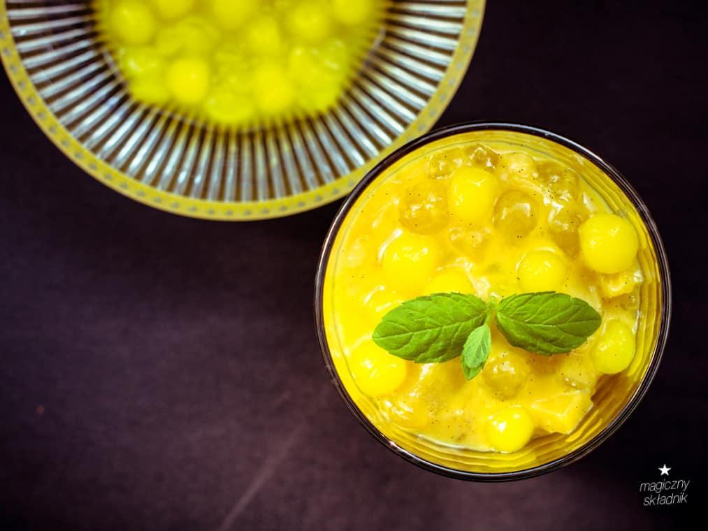 Kisiel z tapioki mango i banana-7