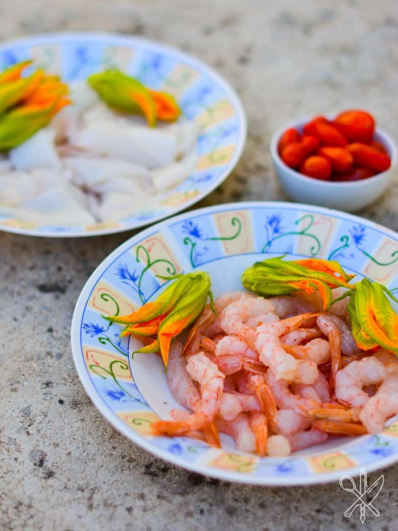 Risotto z owocami morza i melonem-20