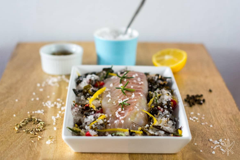 Gravlax z dorsza dorsz marynowany w soli korskiej-6