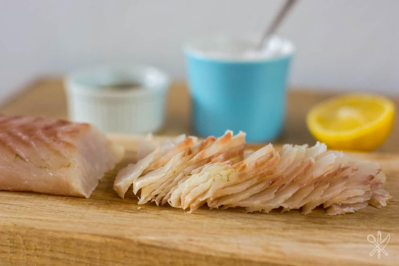 Gravlax z dorsza dorsz marynowany w soli korskiej-8
