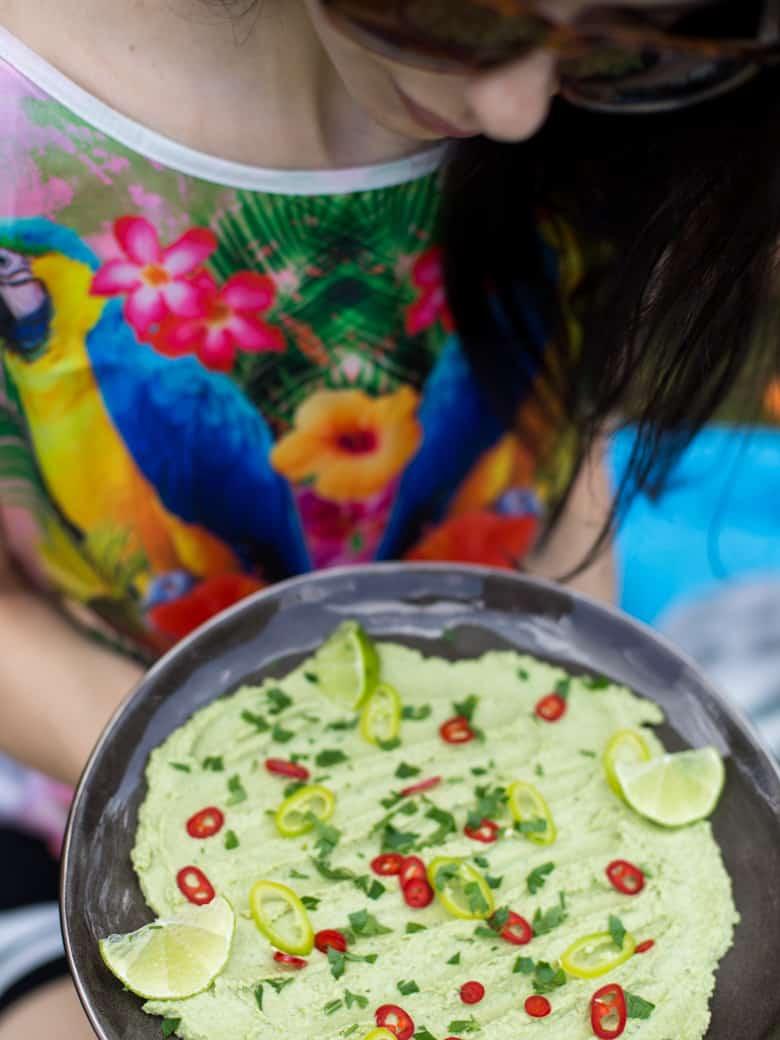 Hummus z zielonego groszku-7