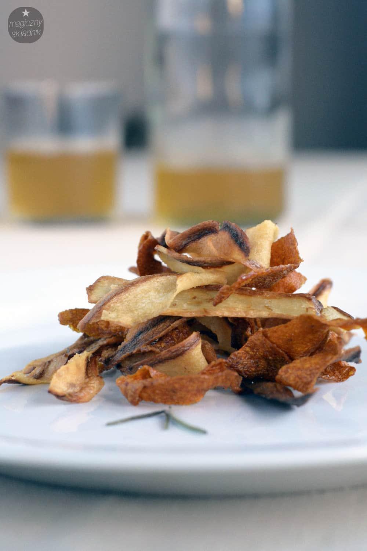 Chipsy z pietruszki i marchewki 3