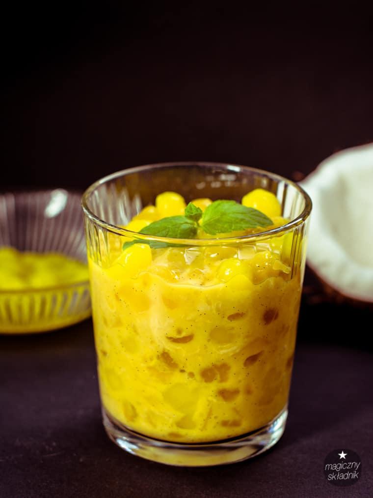 Kisiel z tapioki mango i banana-3