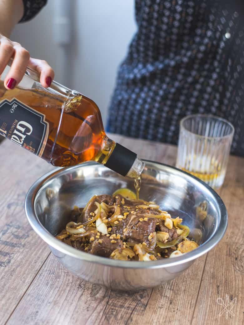 Beef jerky marynowany w whisky-3