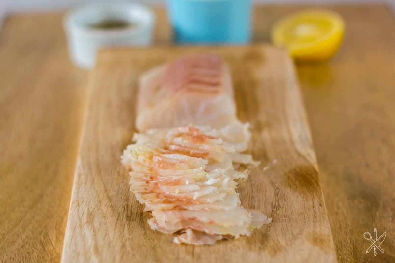 Gravlax z dorsza dorsz marynowany w soli korskiej-9