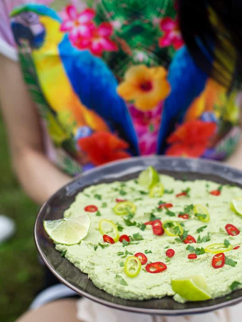 Hummus z zielonego groszku-5